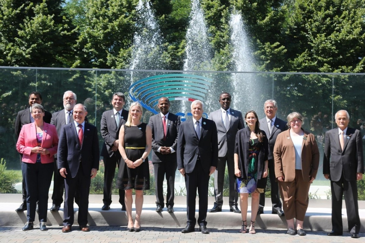 US official makes brief appearance at G7 environmentsummit